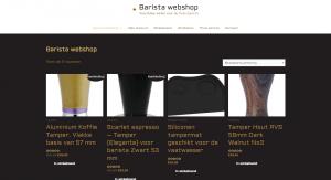 Barista Webshop