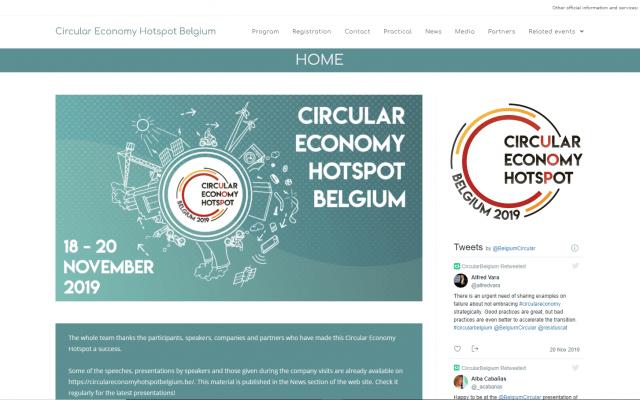 Project Circular Economy Hotspot Belgium