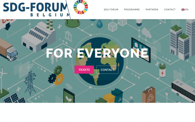 SDG Forum website