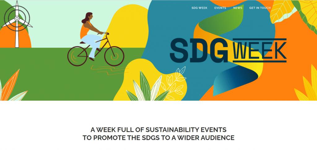 SDG Week Website